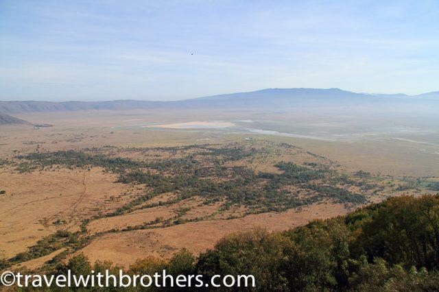 Tanzania, a view of Ngorongoro Crater