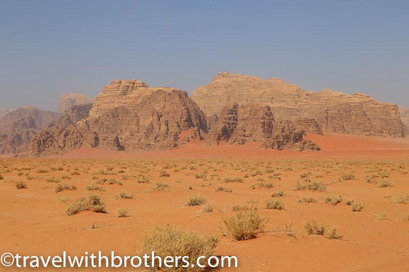 Giordania, il deserto del Wadi Rum