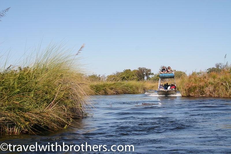 i canali del delta dellOkavango