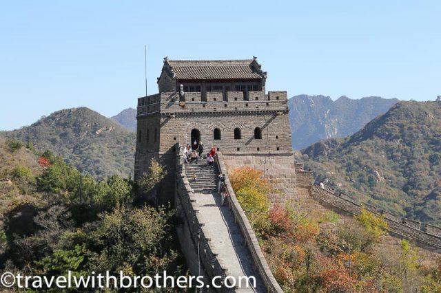 China, a watchtower at Badaling great wall