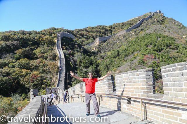 China, Badaling Great wall - north section
