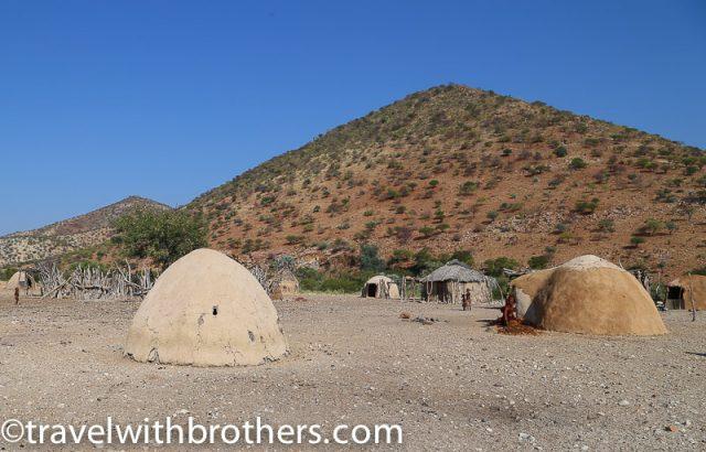 Namibia, Kunene Region - Himba village