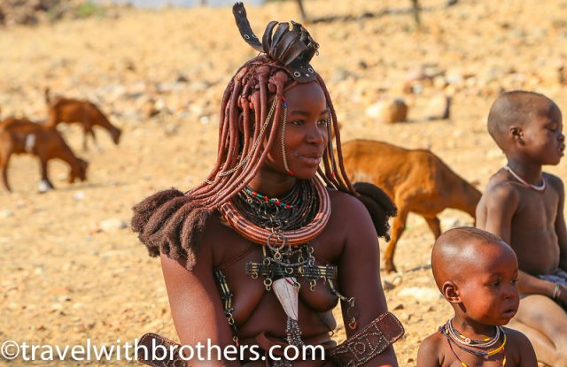 Namibia, Kunene region - a beautiful Himba woman