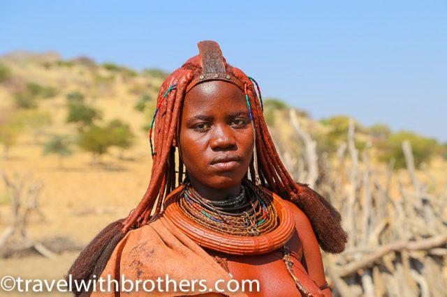 Namibia, Kunene region - Himba woman