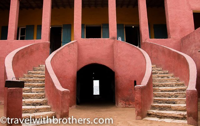 Goree Island, the house of slaves and its door of no return