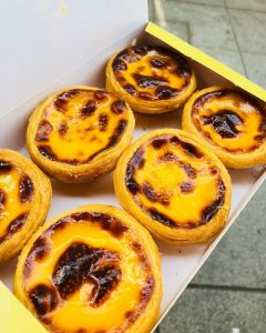 Egg Tart in Macau