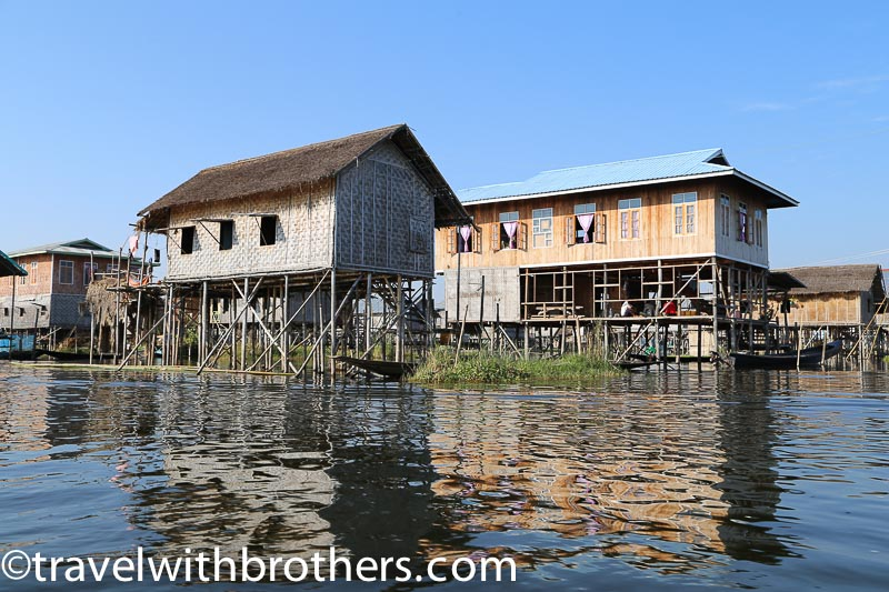 Myanmar, a floating village on Inle Lake