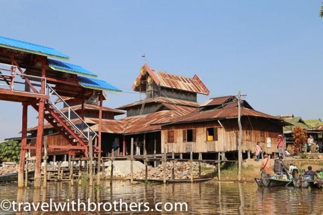 Myanmar, Nga Phe Chaung Monastery on Inle Lake