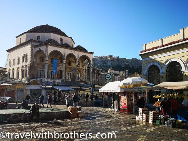 Athens, Monastiraki square