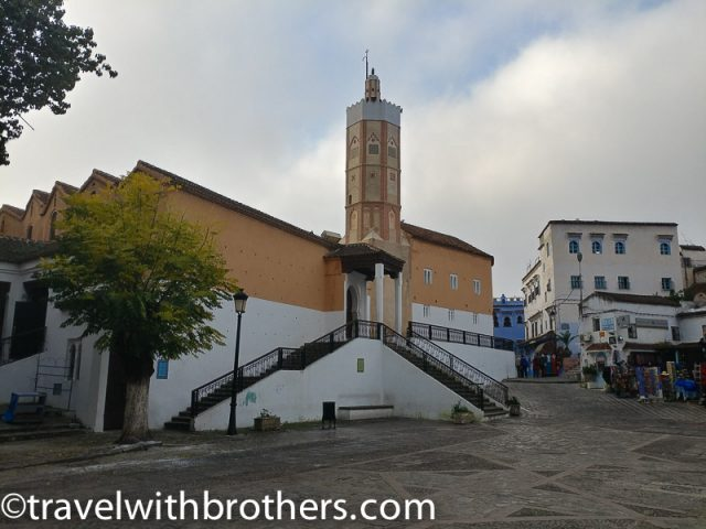 The great mosque of Chefchaouen, Morocco