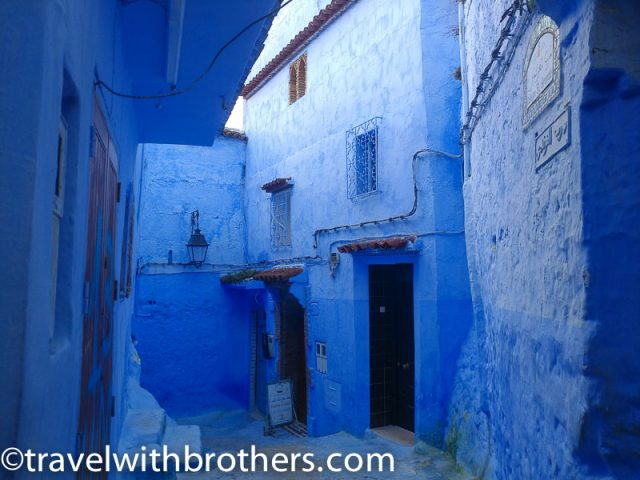 Beautiful houses of Chefchaouen, Morocco