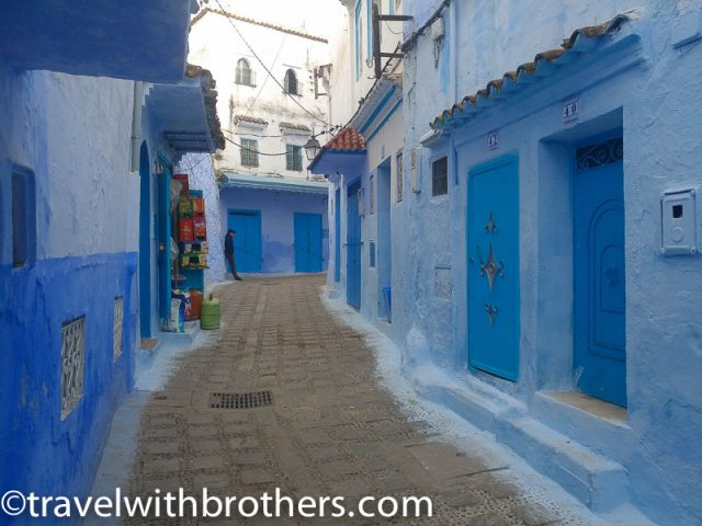 Chefchaouen alley, Morocco