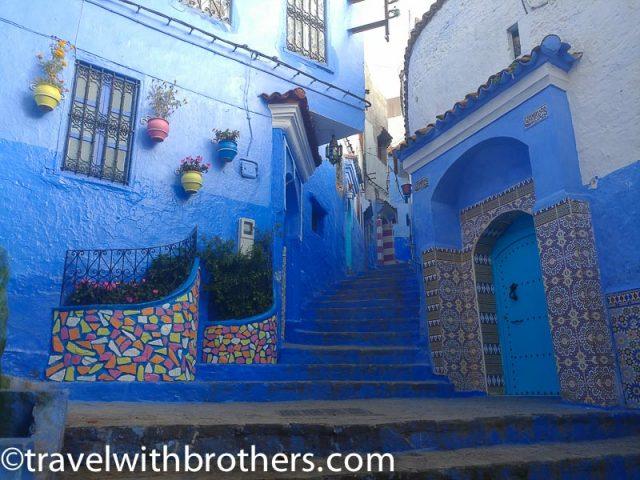 Chefchaouen architecture, Morocco