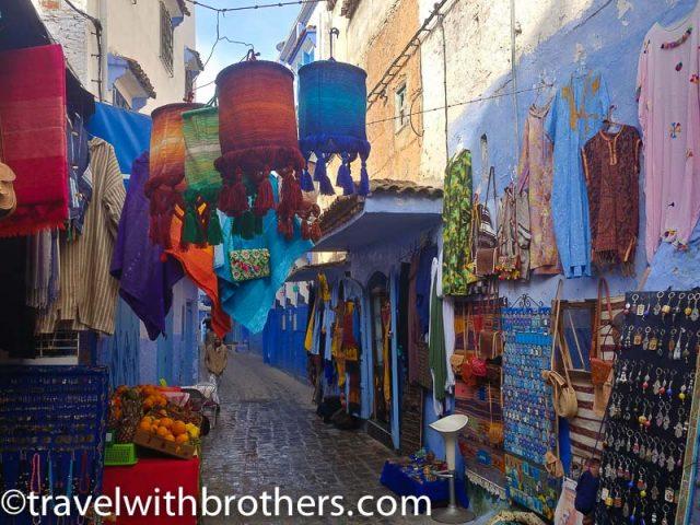 Chefchaouen Souk, Morocco