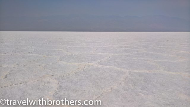 Death Valley - Salt conformations at Badwater basin