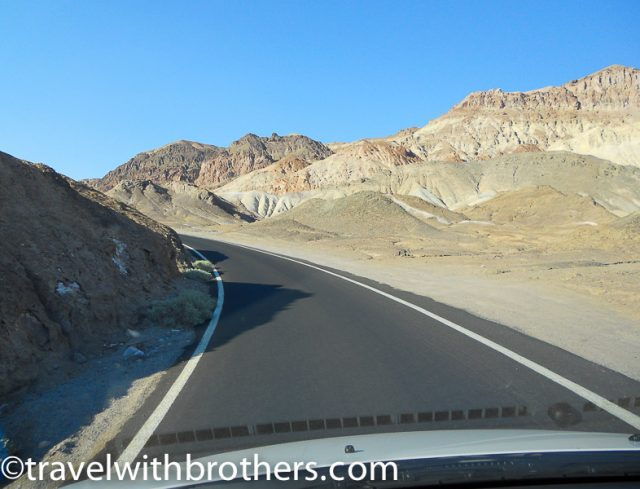 Death valley -Artist's Drive