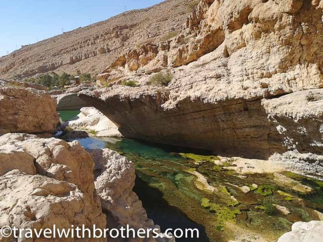 Wadi Bani Khalid - Upper pools