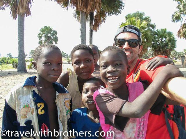 Kids at Butiaba village, Uganda