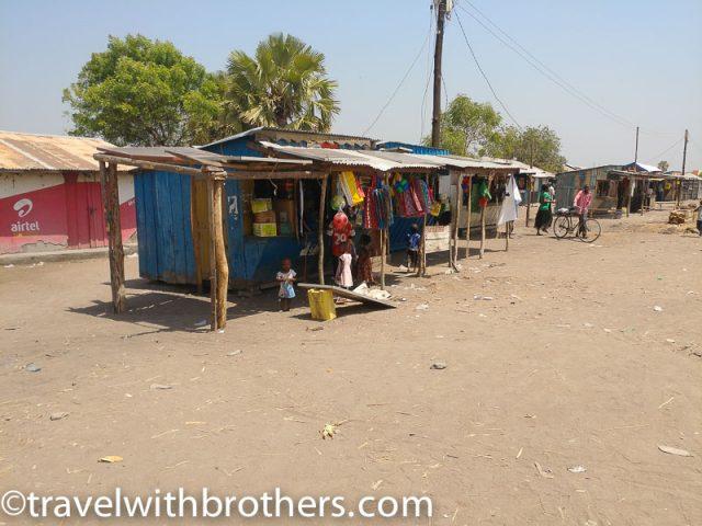 Local store at Butiaba village, Uganda