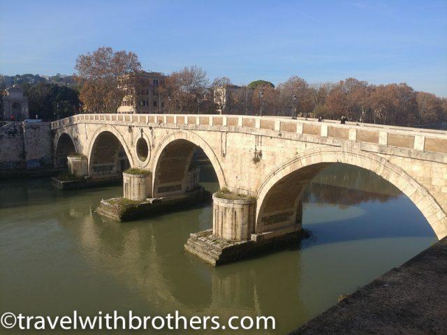 Rome, Trastevere -Ponte Sisto footbridge
