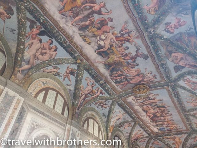 Rome, Trastevere - frescoes at Villa Farnesina