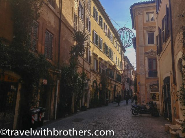 Rome, Trastevere - Via della Scala