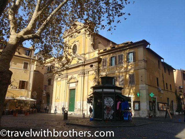 Rome, Trastevere - Church of Sant'Agata