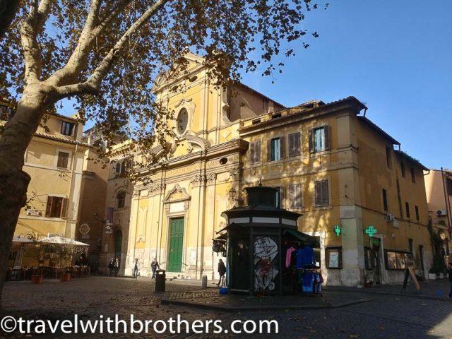 Rome, Trastevere - Church of Sant'Agata
