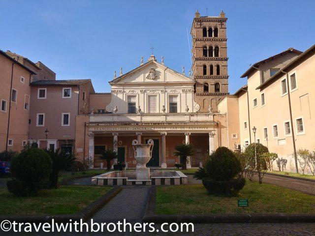 Rome, Trastevere - Basilica of Santa Cecilia
