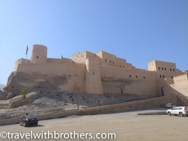 the imposing Nakhal Fort, Oman