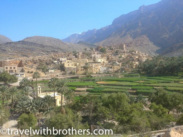 The mountain village of Balad Sayt, Oman