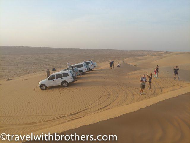 Wahiba sands dunes