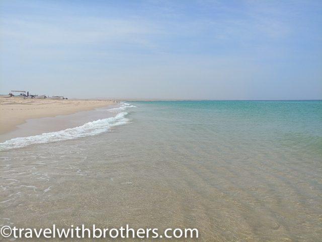 Ras al Hadd beach