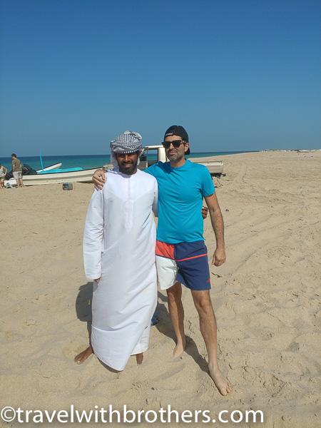 Ras al Hadd, Cristiano and Mr. Fayal