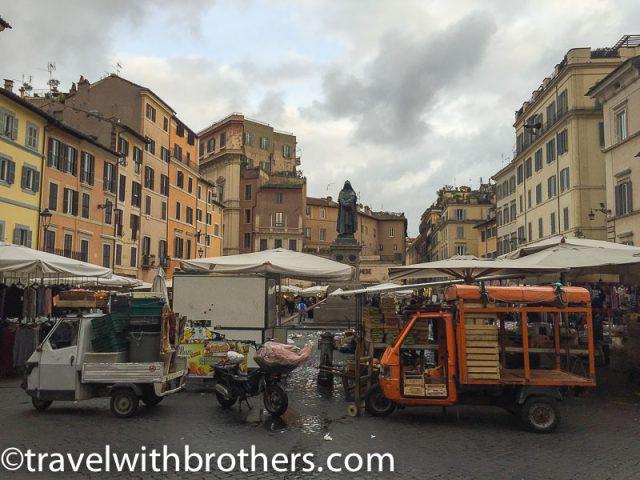 Rome, Piazza Campo de' Fiori