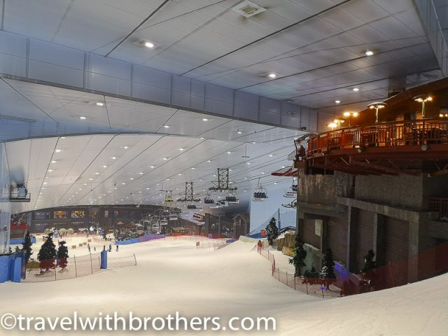 Ski Dubai slope at the Mall of the Emirates, UAE