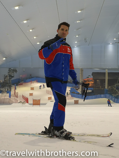 Ski Dubai slope, UAE