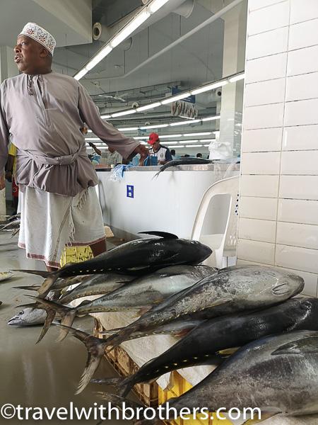 Muscat, Mutrah Fishmarket