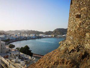 Muscat - Mutrah corniche