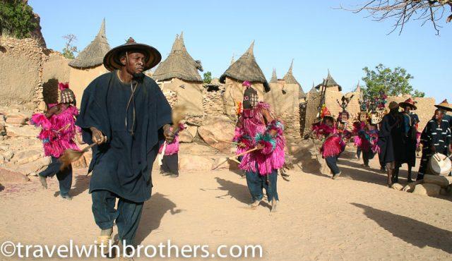 Mali, Dogon masks