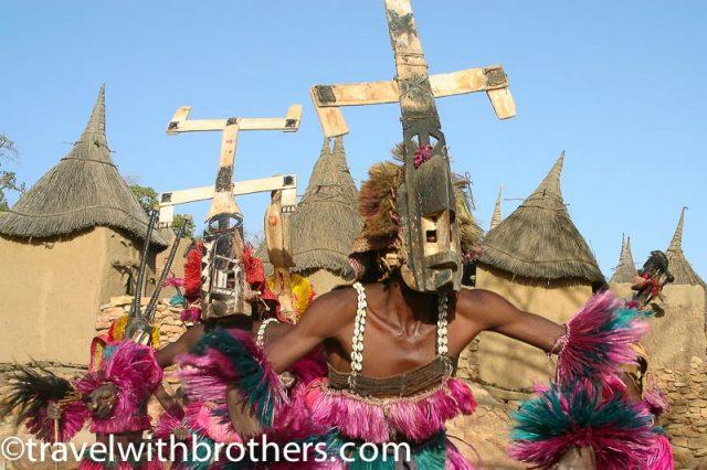 Mali, Dogon Kanaga masks