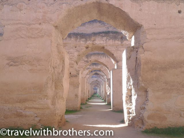 Meknes, the Royal stables