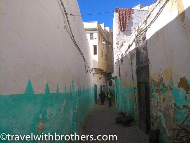 Moulay Idriss, a narrow alley
