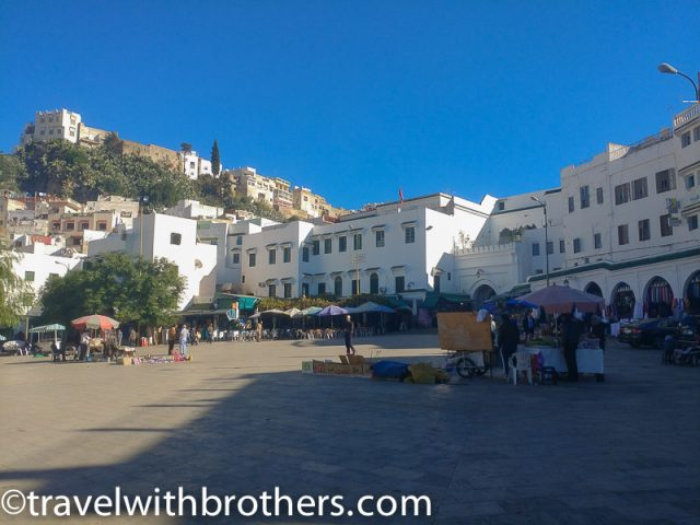 Moulay Idriss, main square