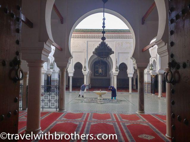 Fes, Mausoleum of Moulay Idriss II