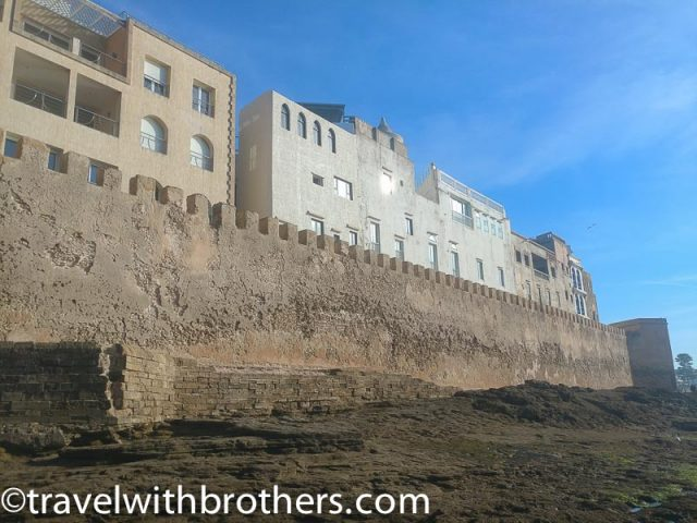 Essaouira, the high ramparts of the West Bastion