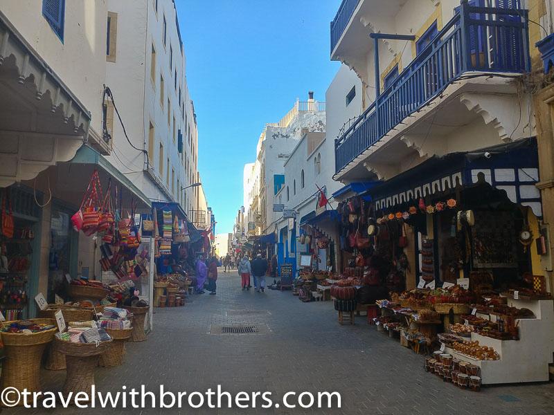 Essaouria, a street of the medina