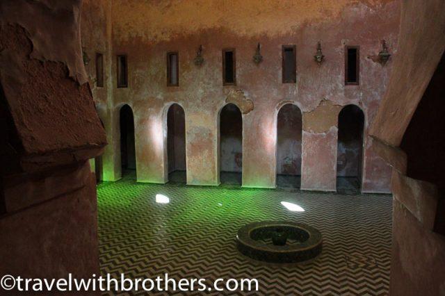 Meknes, Bou Inania Medersa hammam