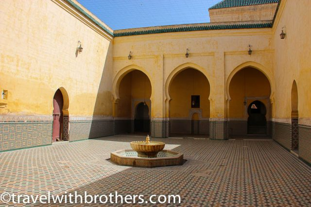 Meknes, Mausoleum of Moulay Ismail