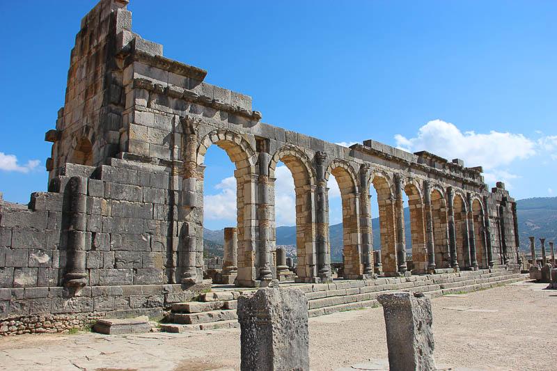 Volubilis, the Basilica ruins